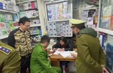 Hà Nội: Xử phạt hai cơ sở bán khẩu trang với giá ''cắt cổ''