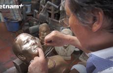 Nghệ nhân Lê Khang - ''phù thủy'' chế tác đồng giữa Hà thành