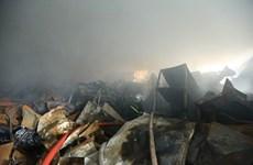 3 người tử vong trong vụ cháy tại khu công nghiệp Phú Thị
