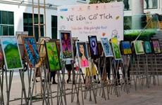 'Vẽ lên cổ tích': Các họa sỹ nhí gây quỹ ủng hộ bệnh nhân khó khăn