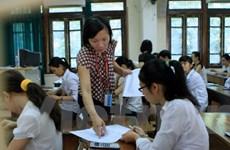 Có 22 thí sinh vi phạm quy chế trong buổi thi đại học môn toán