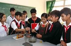 Tuyên dương 111 học sinh dân tộc thiểu số học giỏi năm 2014