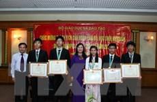 Tuyên dương 50 học sinh xuất sắc kỳ thi Olympic quốc tế và đại học