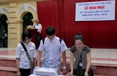Thi lớp 10 năm 2015: Hà Nội tăng 10.000 thí sinh so với năm 2014