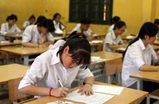 Hà Nội: Đề thi môn Ngữ văn lớp 10 dễ, nhiều thí sinh ra trước giờ