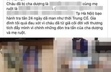 Hà Nội yêu cầu làm rõ vụ bé 3 tuổi tử vong nghi do bạo hành