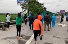 Phát hiện xe khách chạy xuyên Việt bất chấp lệnh cách ly xã hội