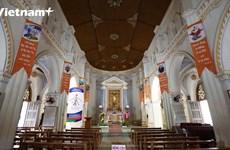 Nhà thờ Mằng Lăng: Không gian châu Âu giữa xứ 'Hoa vàng trên cỏ xanh'