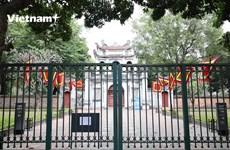 Các di tích và đền, chùa tại Thủ đô đóng cửa nghiêm túc chống dịch
