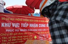 Hà Nội: Lập tổ vận chuyển nhu yếu phẩm tới tận tay người dân cách ly