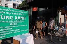 Hà Nội: Những vùng xanh bảo vệ người dân giữa 'tâm bão' COVID-19