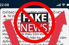 [Fact-check] TP.HCM: Bác bỏ thông tin cấm người dân ra đường 7 ngày