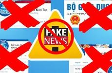 [Fact-check] Giả mạo facebook Bộ GD-ĐT công khai rao bán bằng giả