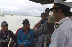 Cứu nạn thành công một thuyền viên gặp nạn trên biển