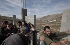 Israel bác bỏ dự luật sáp nhập khu định cư ở Bờ Tây