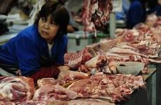 Trung Quốc mua tạm trữ thịt lợn hỗ trợ ngành chăn nuôi