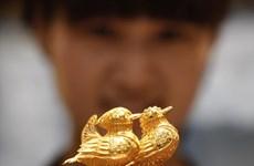 Giá vàng vẫn gần mức cao nhất trong bốn tháng