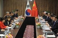 Trung Quốc-Hàn Quốc tăng cường trao đổi quốc phòng
