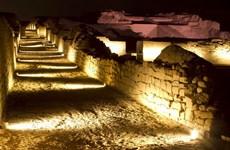 Phát hiện tranh tường cổ tại di tích Pachacamac ở Peru