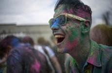 [Photo] Lễ hội sắc màu của người Hindu tại New York