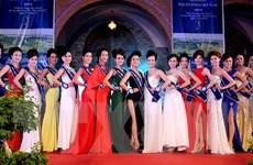 [Photo] Hoa Hậu Đại dương VN: Trình diễn trang phục dạ hội