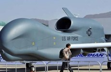 Mỹ lần đầu tiên triển khai máy bay không người lái đến Nhật
