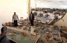[Photo] Lực lượng tướng quân đội Lybia không kích ở Benghazi