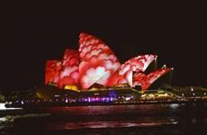 [Photo] Lễ hội ánh sáng tại Australia thu hút đông đảo du khách