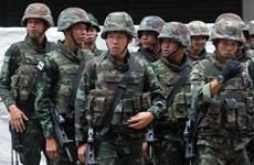 Thái Lan triển khai binh lính ngăn chặn biểu tình ở Bangkok