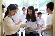 [Photo] 70.000 thí sinh Hà Nội thi tuyển vào lớp 10: Môn Ngữ Văn