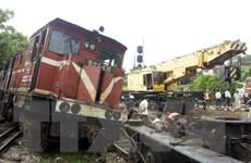 [Photo] Tai nạn đường sắt tại Thái Nguyên, đường ray biến dạng