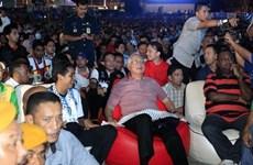 Thủ tướng Malaysia xem chung kết World Cup cùng người hâm mộ