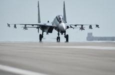 Cận cảnh đội máy bay chiến đấu Nga bắt đầu rời khỏi Syria