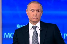 [Video] Trực tiếp cuộc đối thoại thứ 14 của ông Putin với dân Nga