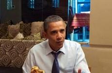 Quán ăn tăng mạnh doanh thu sau khi được ông Obama ghé qua