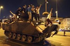 Chính quyền tuyên bố đảo chính ở Thổ Nhĩ Kỳ đã thất bại