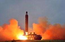 Triều Tiên bất ngờ bắn một tên lửa đạn đạo hướng ra biển