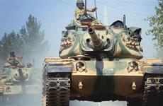 2 xe tăng Thổ Nhĩ Kỳ nối đuôi nhau phát nổ vì trúng tên lửa IS