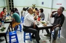 Hé lộ thông điệp hy vọng ông Obama đưa ra bên bát bún chả