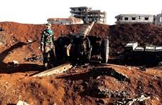 Quân đội Syria tuyên bố ngừng bắn tại thành phố Deraa