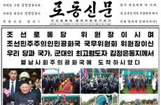 Báo chí Triều Tiên nói Chủ tịch Kim Jong-un được đón tiếp nồng nhiệt