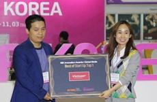 VietnamPlus trao giải cho startup xuất sắc tại hội chợ G-Fair 2019