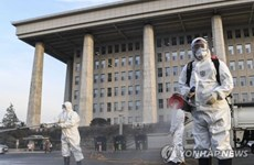 Hàn Quốc tăng vọt số ca lây nhiễm, có trên 1.100 người nhiễm COVID-19