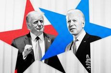 Trực tiếp cuộc tranh luận tay đôi đầu tiên giữa hai ông Trump-Biden