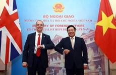 Việt Nam-Anh sẽ phát triển quan hệ đối tác chiến lược lên tầm cao mới