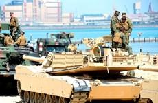 Mỹ điều động một tiểu đoàn thiết giáp tới Hàn Quốc