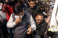 Hạ nghị viện Ấn Độ náo loạn vì vụ bình xịt hơi cay