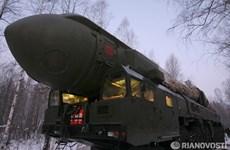 Nga thử thành công tên lửa đạn đạo liên lục địa Topol