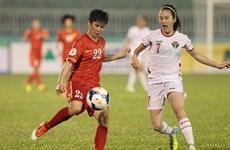 Nữ Việt Nam đại thắng Jordan nhờ cú đúp của Thanh Hương