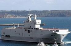 Mỹ lại gây sức ép đòi Pháp đình chỉ vụ bán tàu Mistral cho Nga